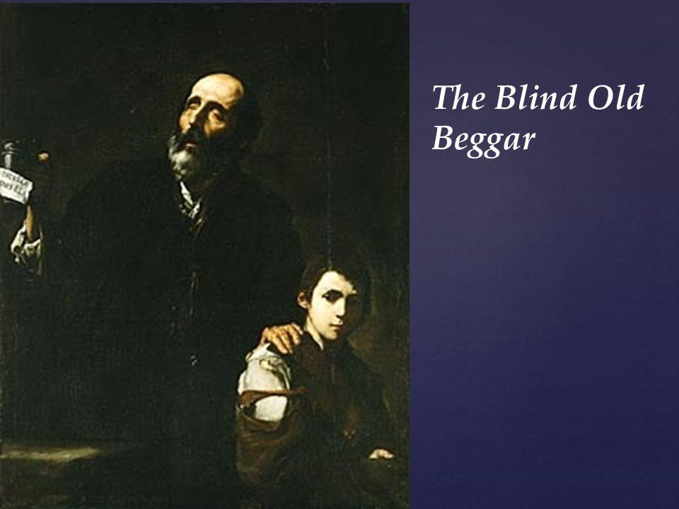 The Blind Old Beggar
