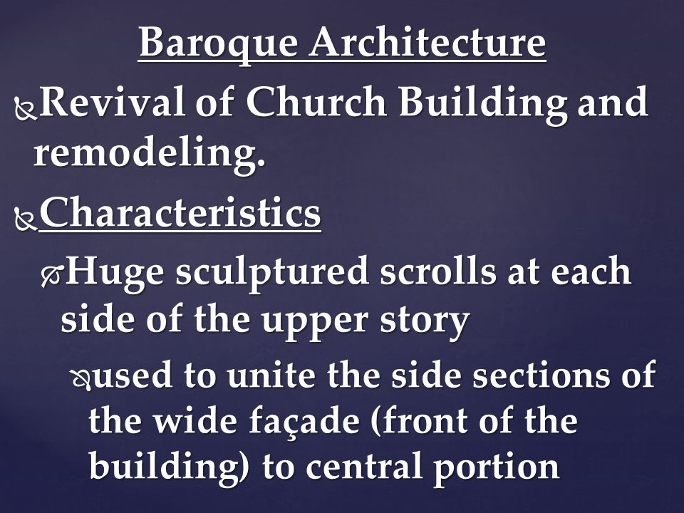  Revival of Church Building and remodeling.