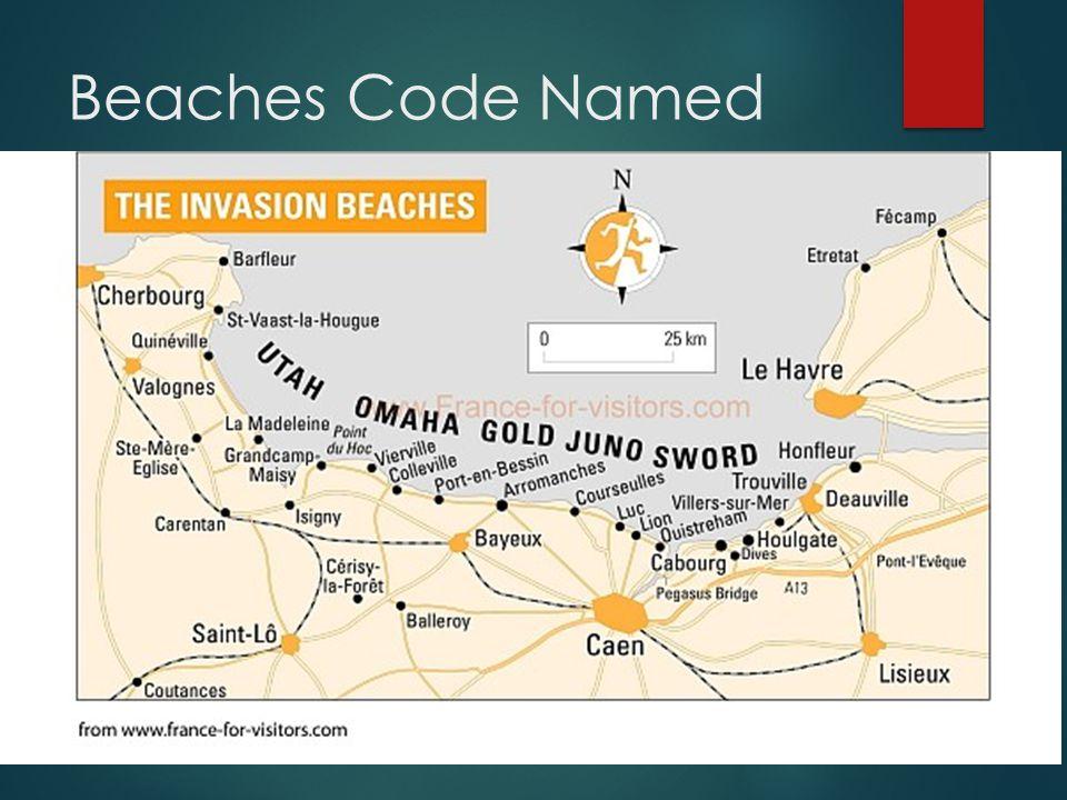 Beaches Code Named