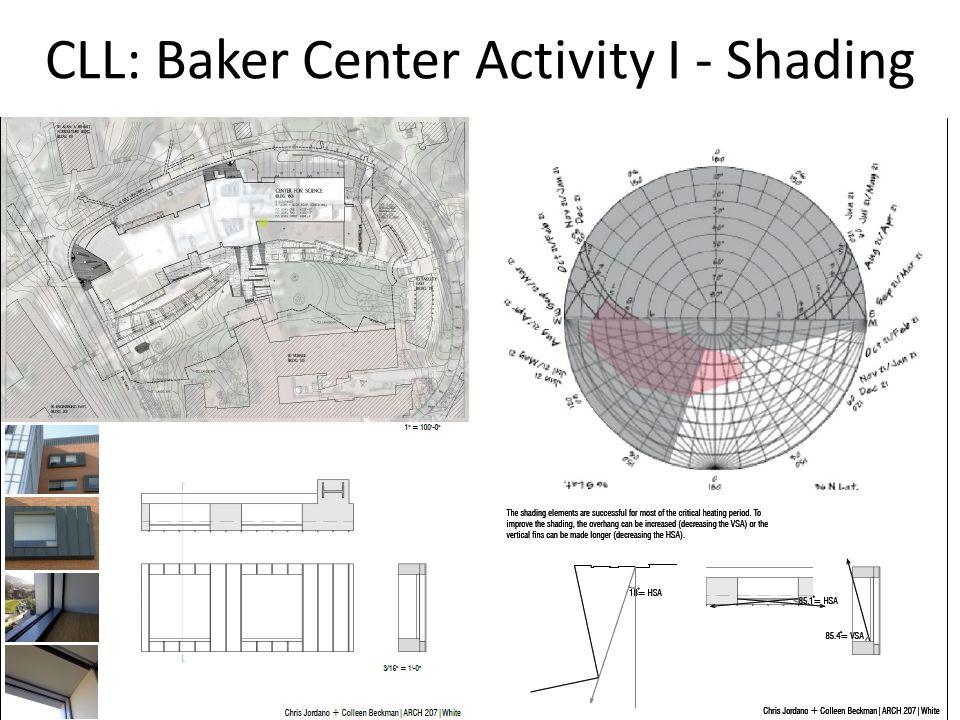 CHESC 2014 / Cal Poly, San Luis Obispo CLL: Baker Center Activity I - Shading
