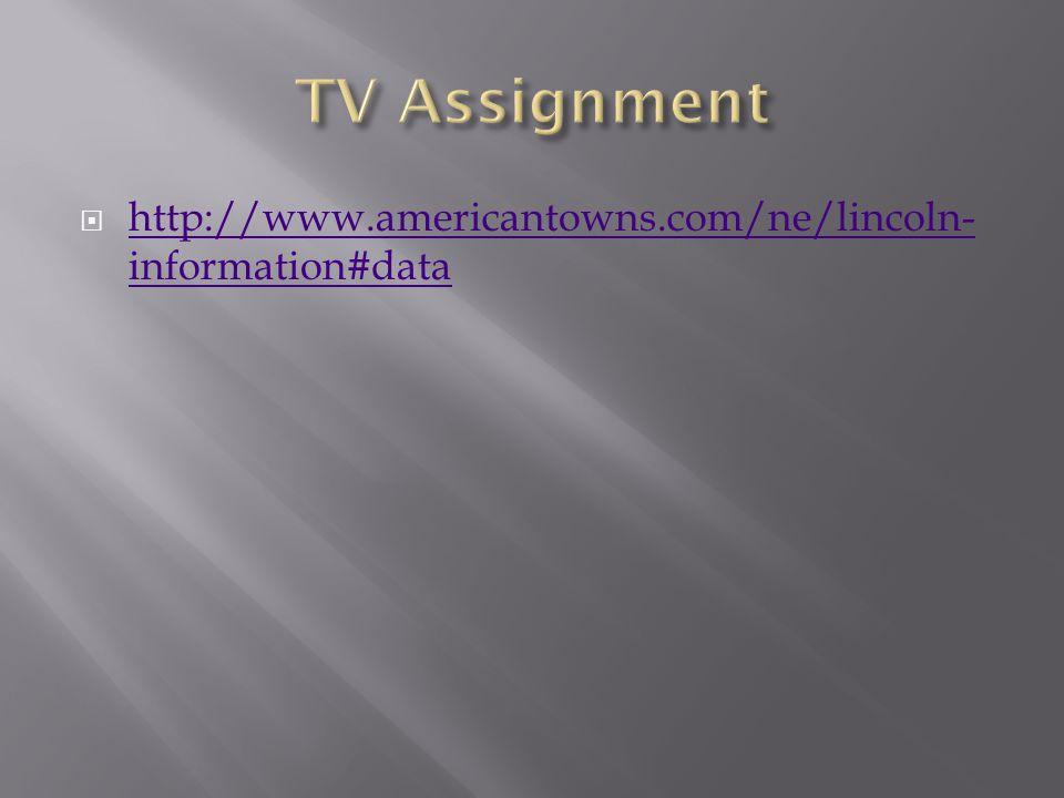  http://www.americantowns.com/ne/lincoln- information#data http://www.americantowns.com/ne/lincoln- information#data