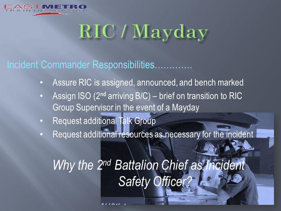 Incident Commander Responsibilities………….