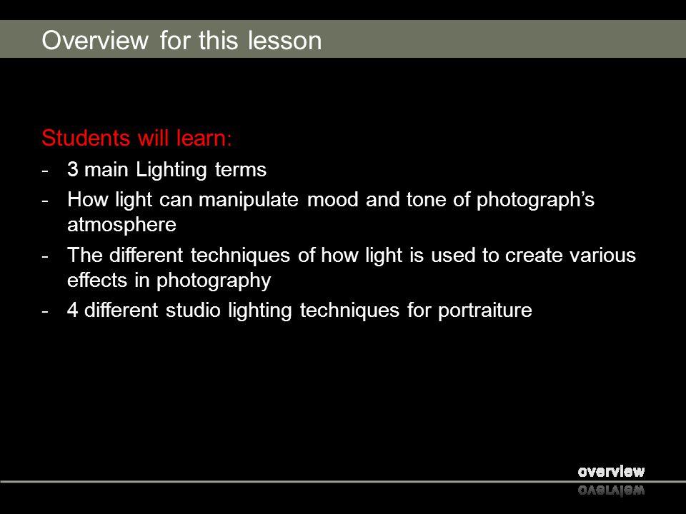 Types of Light Soft Lighting