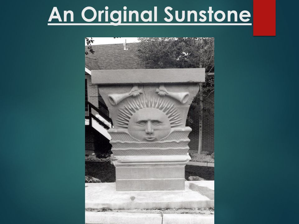 An Original Sunstone