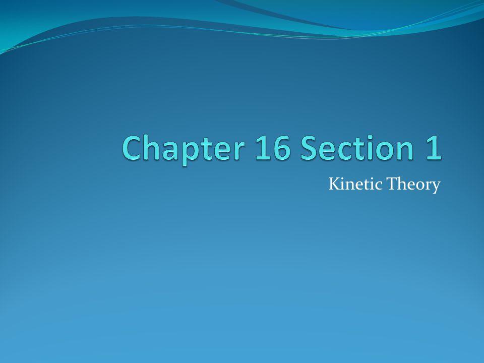 Kinetic Theory
