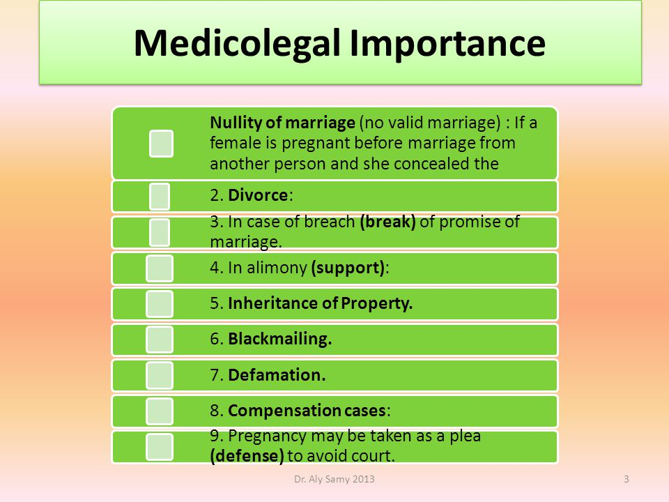Medicolegal Importance Dr.