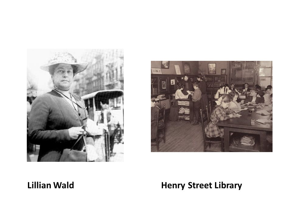 Lillian Wald Henry Street Library