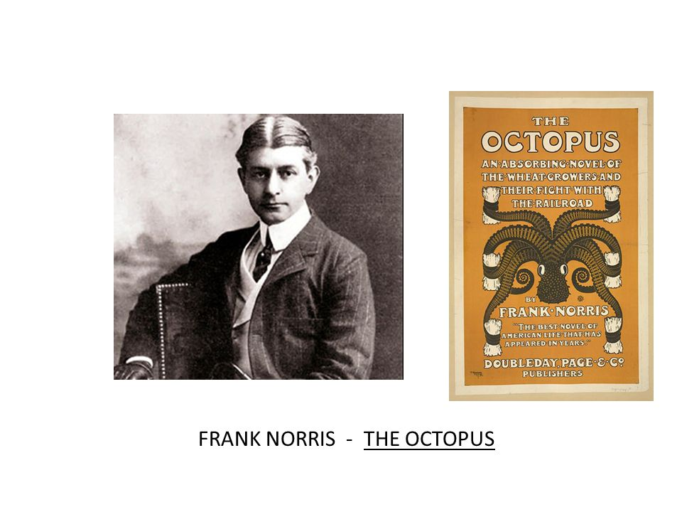 FRANK NORRIS - THE OCTOPUS