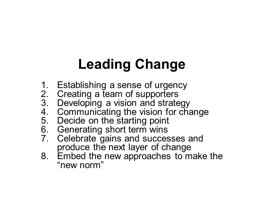 Delivering (2)  Bring energy to what you do  Recommendation for middle leaders: Bring passion and enthusiasm.