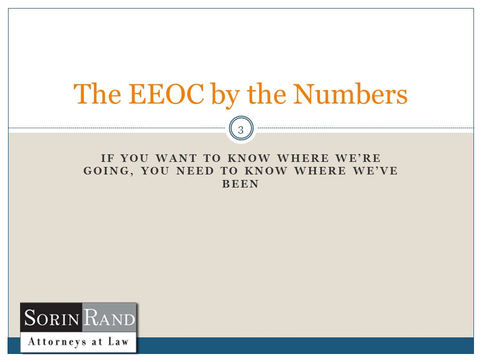 EEOC by the Numbers 4 99,412 total charges  About even with last year…which happened to be a record Retaliation charges led the way—again  37,836—about 38% of all charges  #1 since 2009 Race  33.7%
