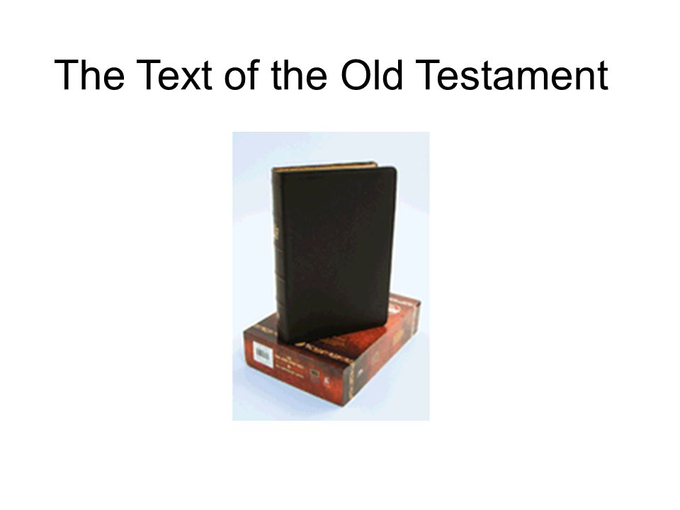 The Hebrew Manuscripts The main manuscripts of the Hebrew Bible are: 1.