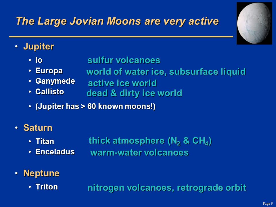 Page 60 Shepherd Moons Pair of small moons can force particles into a narrow ringPair of small moons can force particles into a narrow ring