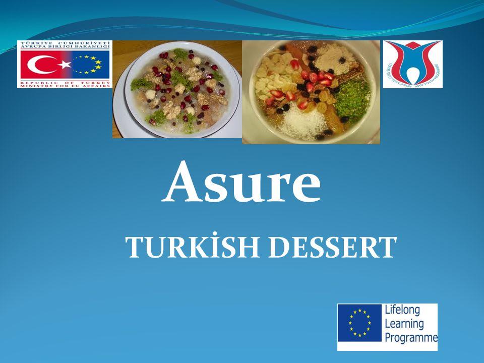 Asure TURKİSH DESSERT