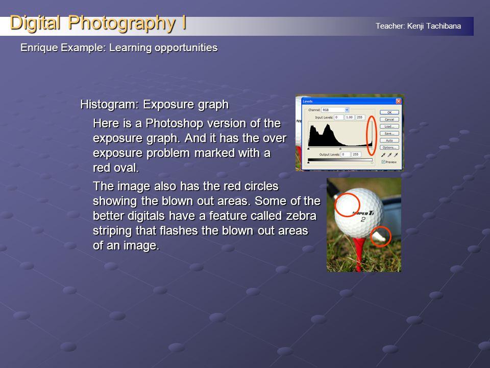 Teacher: Kenji Tachibana Digital Photography I Composition: Avoid red prop.