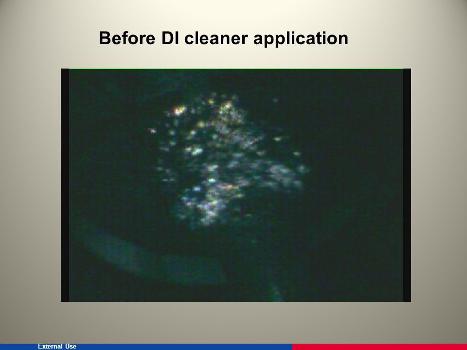 External Use After DI Cleaner Application