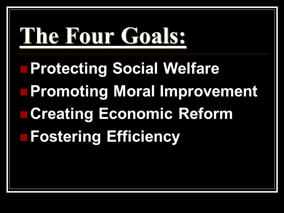 Protecting Social Welfare Working to soften harsh conditions of industrialization Social Gospel & Settlement House Movements continued