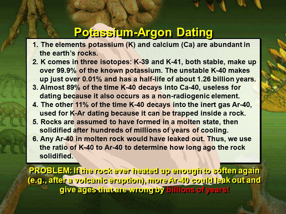 Potassium-Argon Dating 1.
