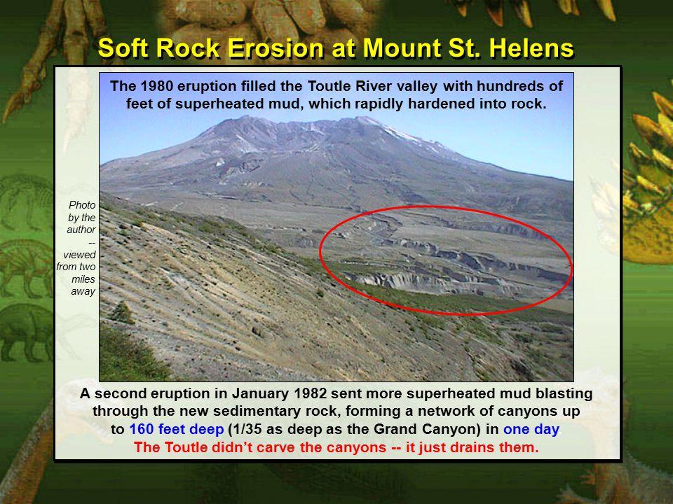 Soft Rock Erosion at Mount St.