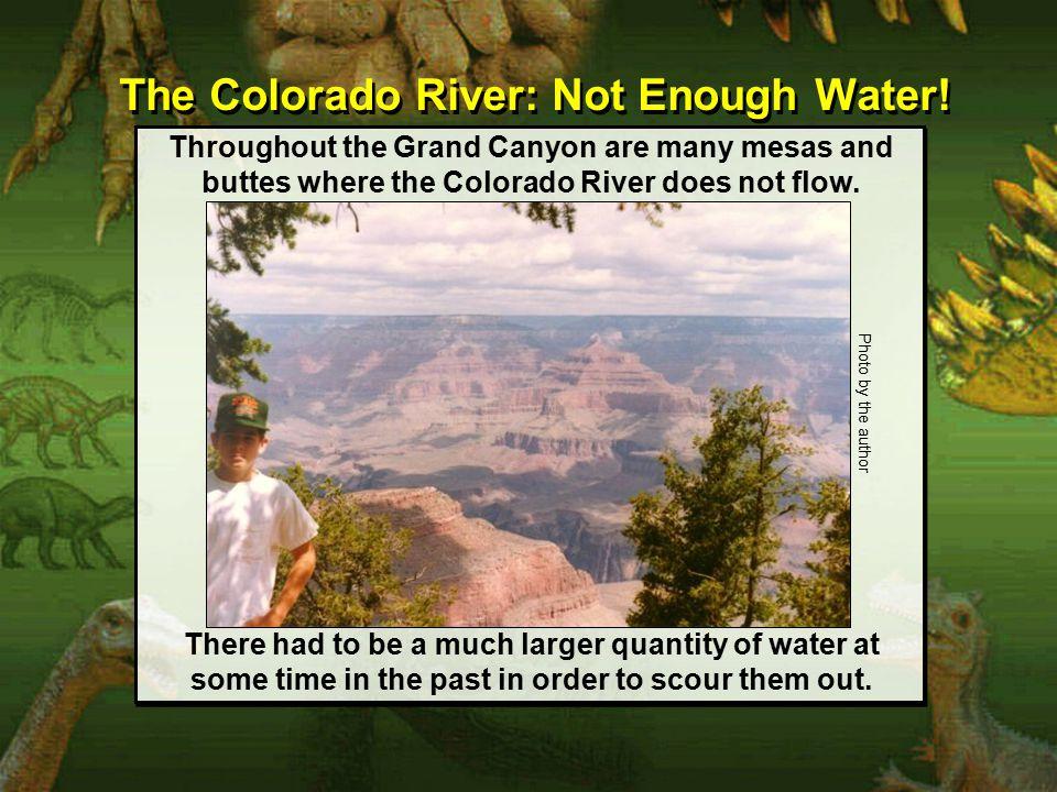 The Colorado River: Not Enough Water.