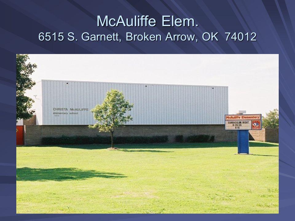 Grove Elem. 10202 E. 62 nd Street, Tulsa, OK 74133