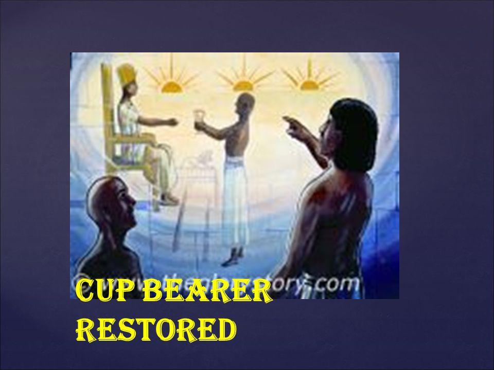 CUP BEARER RESTORED