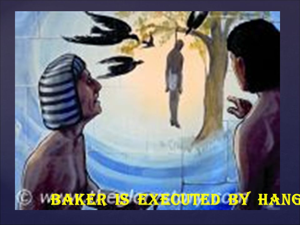 BAKER IS EXECUTED BY HANGING