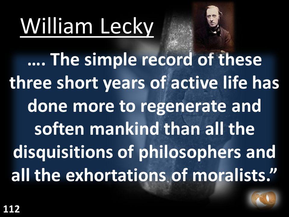 William Lecky ….
