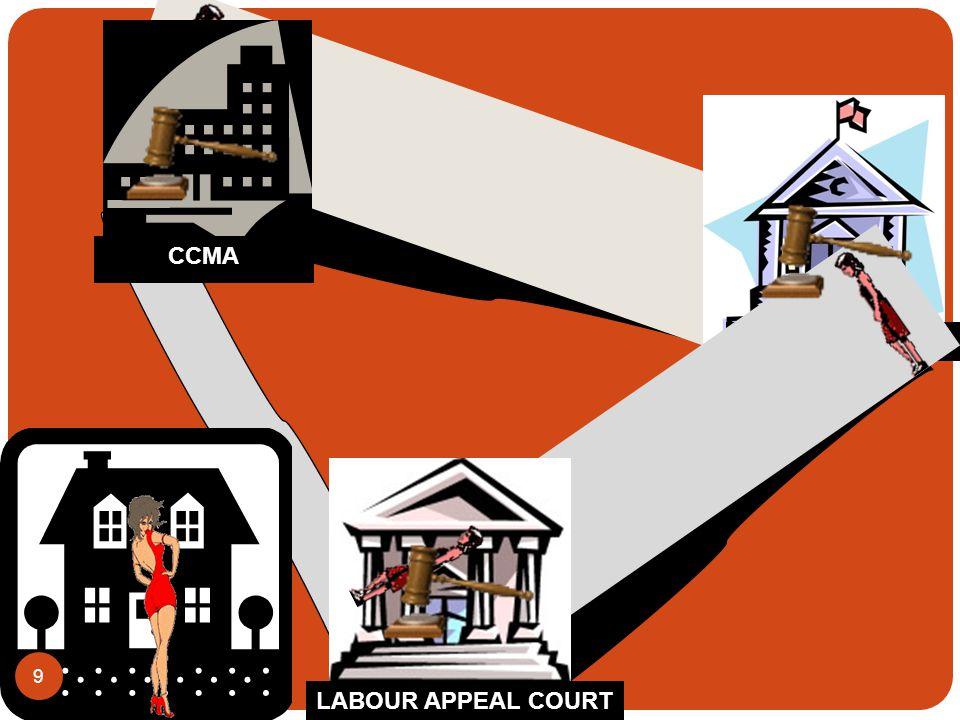 LABOUR COURT LABOUR APPEAL COURT CCMA 9