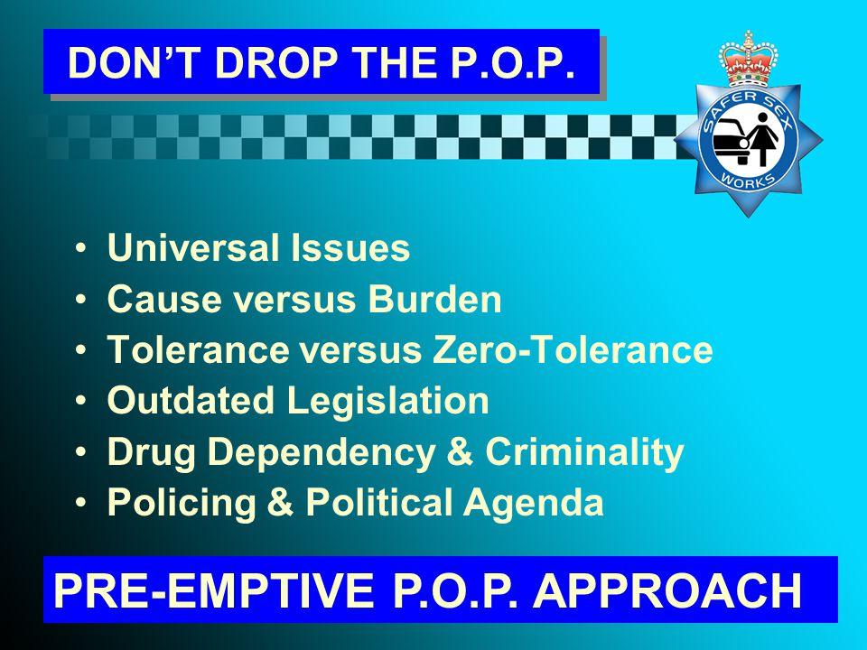 DON'T DROP THE P.O.P.