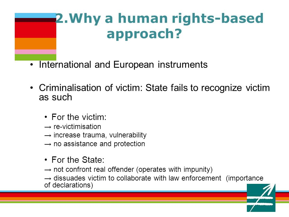 2.Why a human rights-based approach.