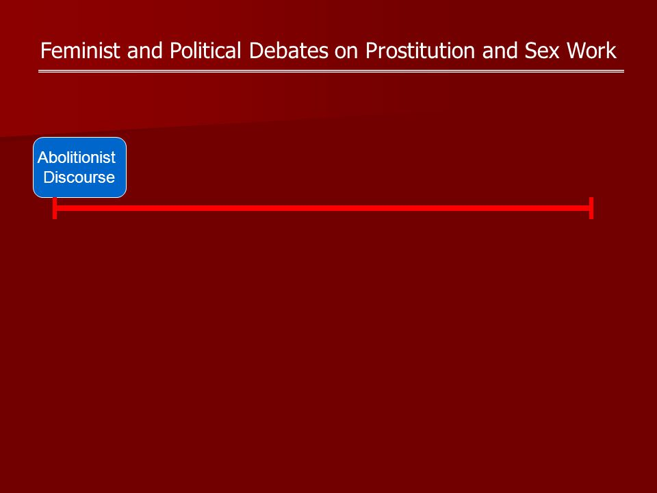 Feminist and Political Debates on Prostitution and Sex Work Abolitionist Discourse