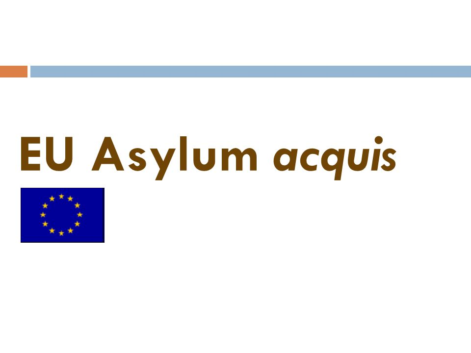 EU Asylum acquis