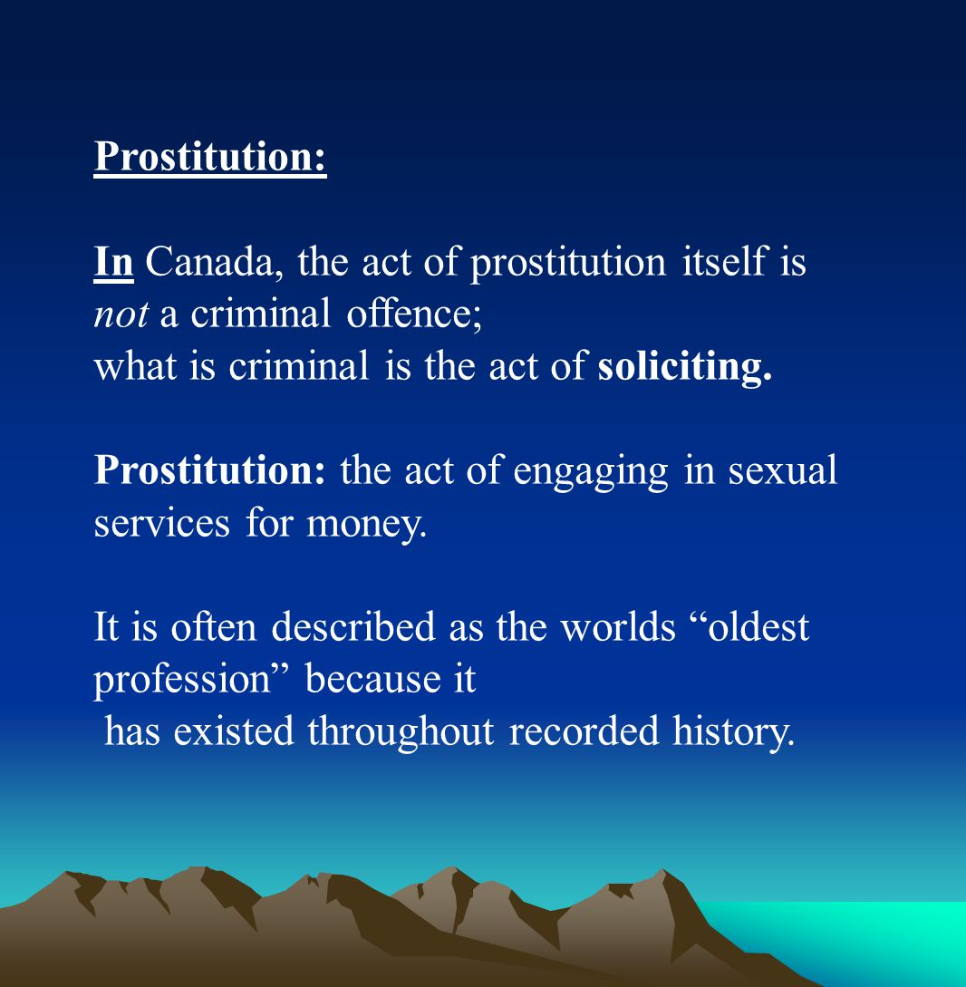 There are a variety of offences related to obscenity.
