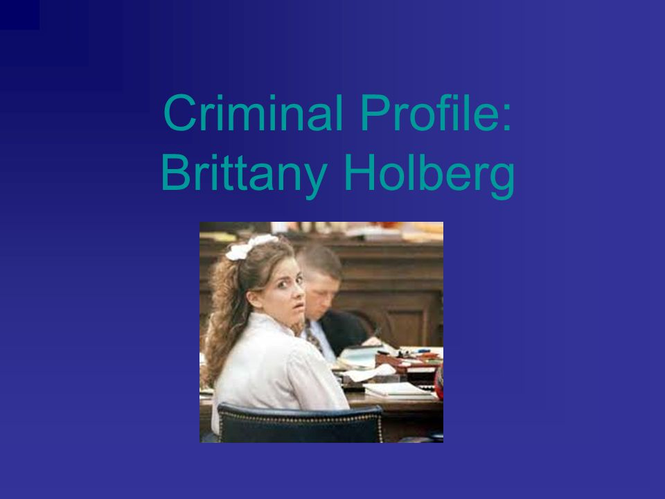 Background Information Grew up with hippie drugster parents in Texas First exposed to drugs at age 13 or 14 Married as a teenager In 1993, she gave birth to her daughter At age 20, she moved back to her home town She fell into the wrong crowd and began using drugs Became a prostitute to support herself Was once raped, severely eaten and cut with a knife; hospitalized after this incident