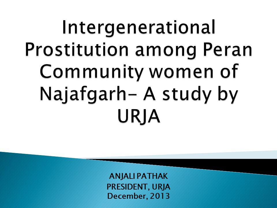 ANJALI PATHAK PRESIDENT, URJA December, 2013