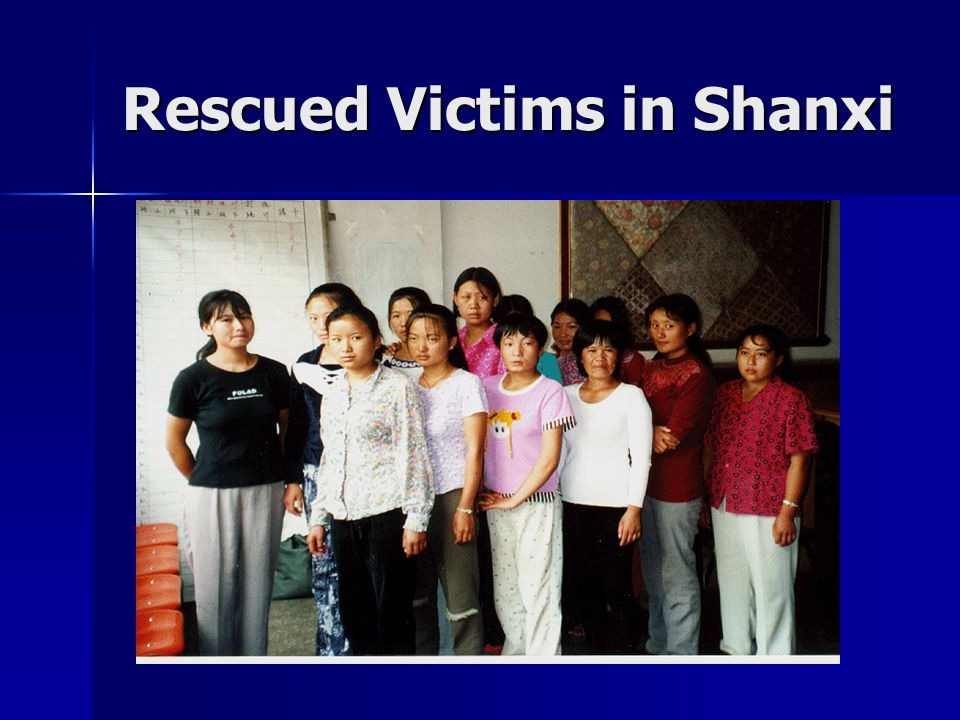 Rescued Victims in Shanxi