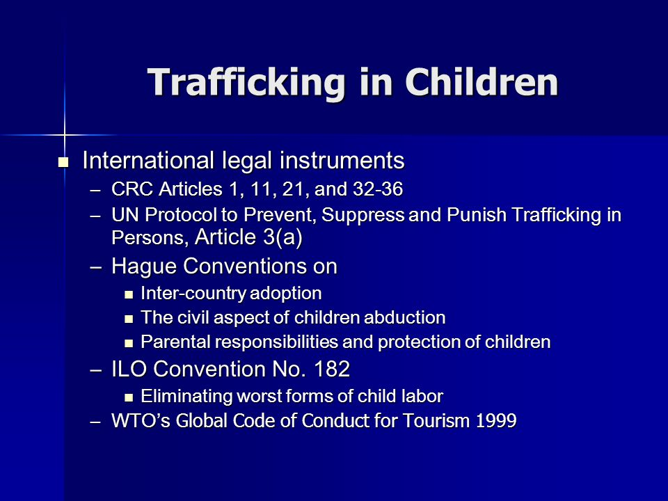 Anti-Trafficking Practice Mekong Subregional Project Mekong Subregional Project –TICW works in education, skill training, employment creation, alternative livelihood and legal literacy China: In collaboration with UNICEF to combat trafficking in women and children.
