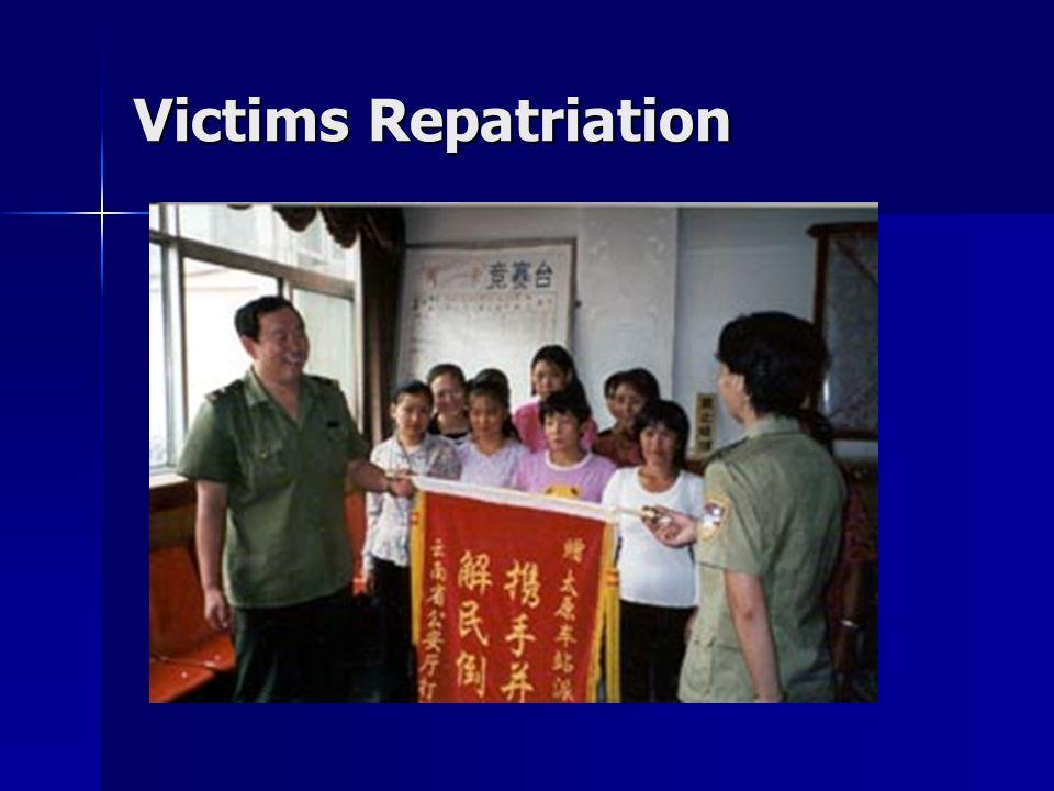 Victims Repatriation