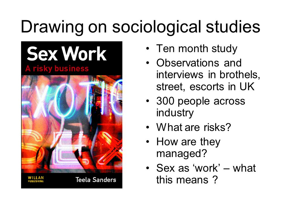 Other side of the coin… Interviews with 50 men Self selecting sample Observations of Internet message boards Motivations, Experiences, Meanings, Understandings of Buying sex