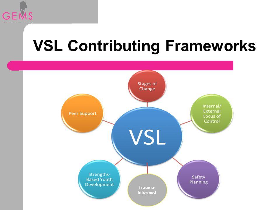 VSL Contributing Frameworks Trauma- Informed