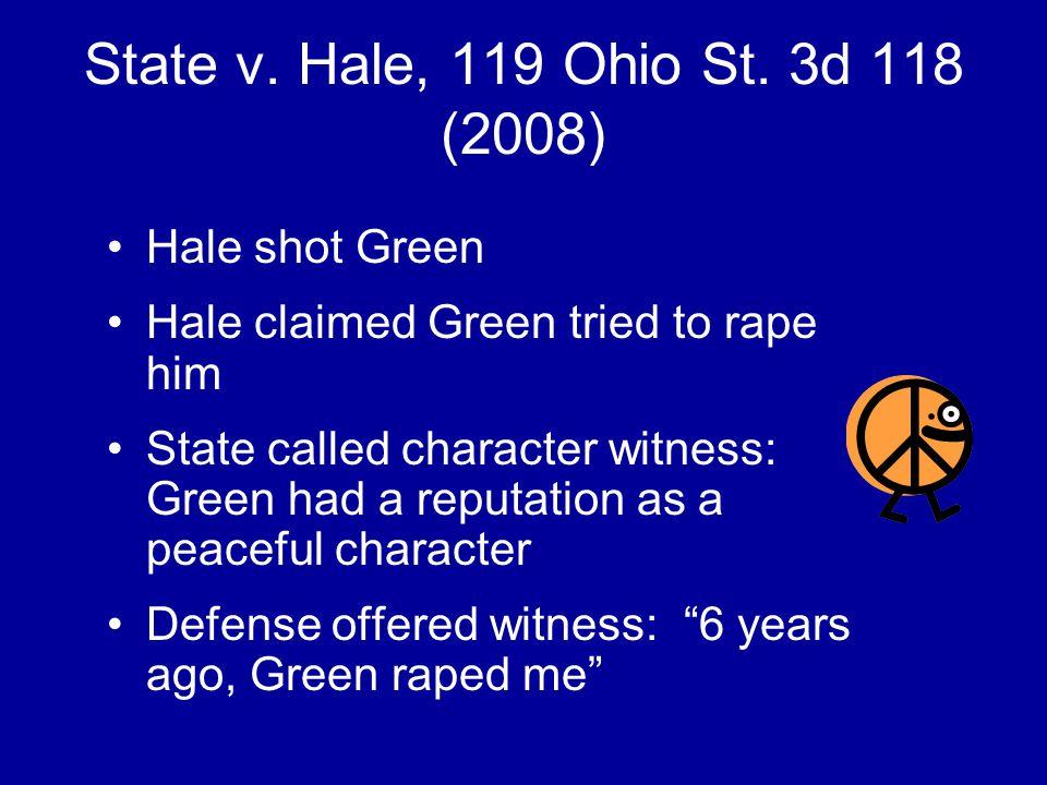 State v. Hale, 119 Ohio St.