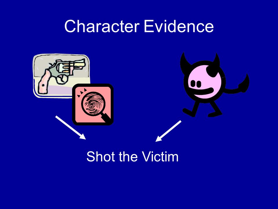 Character Evidence Shot the Victim