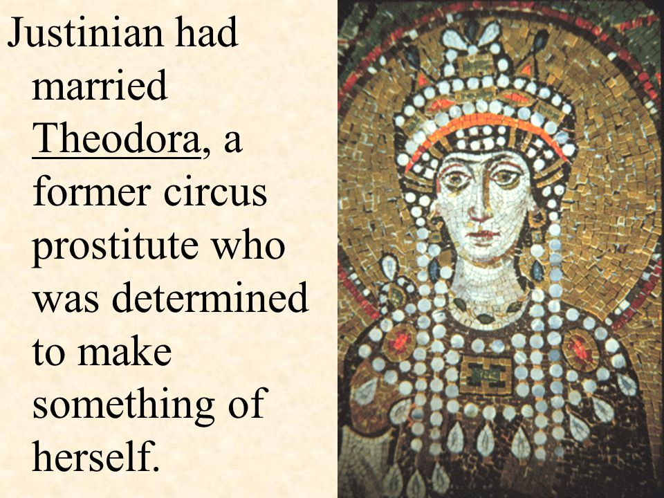 She had been the daughter of a bear trainer in the Hippodrome (coliseum) of Constantinople.