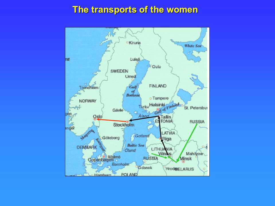 The transports of the women