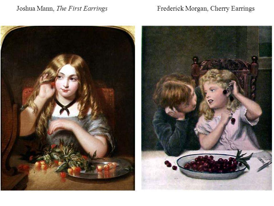 Joshua Mann, The First Earrings Frederick Morgan, Cherry Earrings