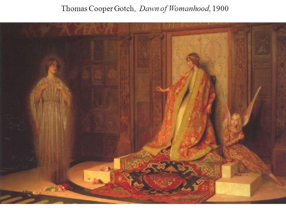 Thomas Cooper Gotch, Dawn of Womanhood, 1900