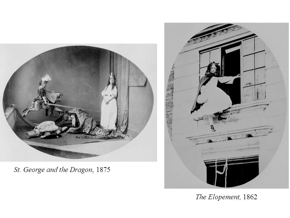 The Elopement, 1862 St. George and the Dragon, 1875