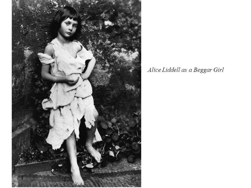 Alice Liddell as a Beggar Girl