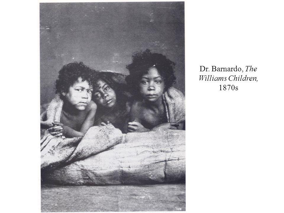 Dr. Barnardo, The Williams Children, 1870s