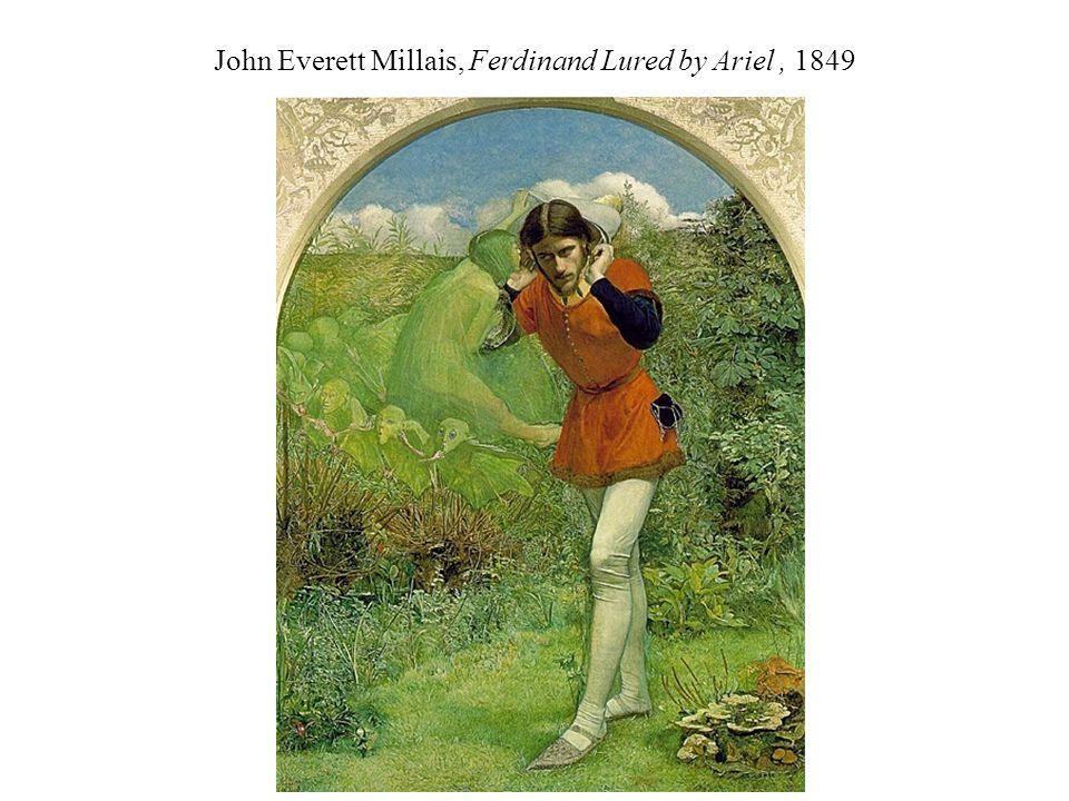 John Everett Millais, Ferdinand Lured by Ariel, 1849